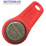 Address Only TM1990A-F5 iButton Fob with Red Color for Drivers ID