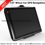 "Wince 7.0"" Car Truck Marine GPS Navigation with FM Transmitter, AV-in Dash Rear Camera, Handheld GPS Navigation System,Bluetooth for Mobile Phone,Tmc Tracker,TV"