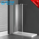 Simple Design of Single Glass Screen Opening Shower Door (BL-B0092-P)