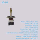 39W Car Accessory LED Light 4 Sides 360 Degree Electric Car Conversion Kit LED Headlight CREE LED Chip H4, Jd-H4-A1