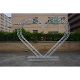 Rk Lighting Stage Equipment for Performing Heart Shaped Lighting Stage Truss