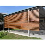 Differenrt Style Color Wood Grain Aluminum Fence Panel Product Price