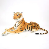 Normal Brown Tiger Jungle Animal Natural Look Plush Toy