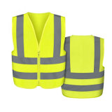 Breathable Polyester Warning Reflective Waistcoat Safety Vest Clothing for Women Men