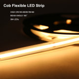 6000K 8mm 6W 24V IP67 240LEDs/M LED Strip Light Waterproof COB LED Light Strip for Indoor and Outdoor Decorative Lighting