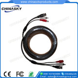 15 Meters Pre-Made Video Audio, Power Siamese CCTV Cable (VPA15M)