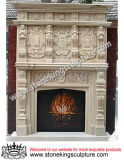 Marble Fireplace Mantel for Decoration (SK-1534)