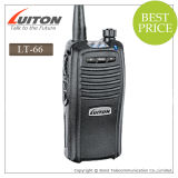 CE Approved VHF/UHF Handheld Radio Lt-66 Walkie Talkie