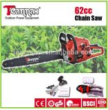 portable hand held 62cc chain saw