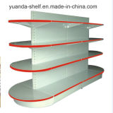 New Design Round Head Portable Supermarket Display Shelf