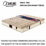 Natural Latex Spring Mattress with High Grade Knitting Fabric Cover (FB739)
