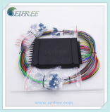 Customized Compact 1X6 Ports Fiber Splitter for EDFA System