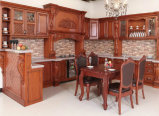 High Quality Simple Antique Solid Wood Kitchen Cabinet Furniture