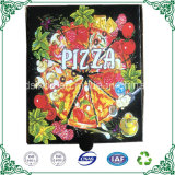 Corrugated Pizza Packaging Box 7 Inch Small Pizza Box with Black Color Printing Packaging Box