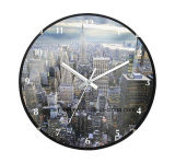 Landmarks in Modern Foreign Country Customized Wall Clock