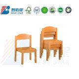 Kindergarten Kids Chair, Nursery School Classroom Table Chair, Preschool Furniture, Student Stackable Wooden Stack Chair