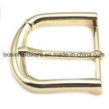 Gold Plated Metal Belt Buckle for Leather Part