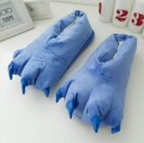 Warm Plush Monster Claw Indoor Slippers