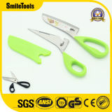 9.5'' Multi Stainless Steel Kitchen Scissors to Cut Meat and Fish with Scale Scraper
