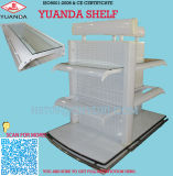 Luxury Supermarket Cosmetic Display Shelf with Glass Shelves