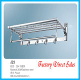 Sanitary Ware Chroming Color Towel Rack (J23)