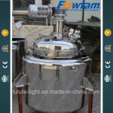 5000L Stainless Steel Coil Heating Chemical Reaction Vessel