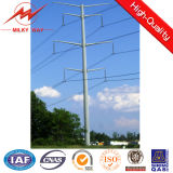 Outdoor Polygonal Coating Utility Poles for Africa Market