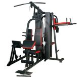 Five Multi-Station Machine/Home Gym/Home Workout Equipment