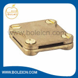 Ribbed Square Tape Cross Connection Busbar Clamp