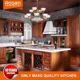 European Style Cherry Wood Kitchen Cabinet Wholesale