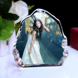 Wholesale Crystal Photo Frame Craft Iceberg for Souvenir Gift