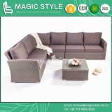 Patio Corner Sofa Set New Arrival Rattan Wicker Sofa Outdoor Sofa Set Garden Corner Sofa (MAGIC STYLE)