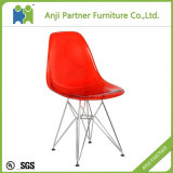 Modern Colorful Cheap Stainless Steel Legs Dining Polycarbonate Chair Wholesale (Lingling-S)