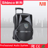 Shinco 10′′high Quality Rechargebale Bluetooth Trolley Speaker