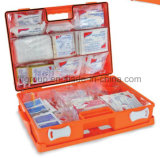 Office Wall Mount First Aid Box ABS Strong Plastic Medical Case Custom Storage First Aid Kit
