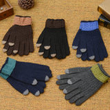 Man's Winter Warm Knitted Gloves Full Finger Wholesale