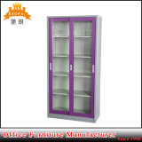 Sliding Glass Door Metal Filling Office Cabinet