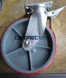 1500kgs Capacity Heavy Duty Scaffold Casters Cuplockscaffold with Brake for Mobile Scaffolding Tower