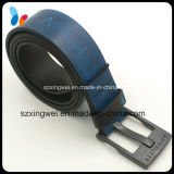 Blue Genuine Belt Fashion Men Belt with Pin Buckle