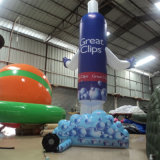 Inflatable Products Shampoo Model Promotional
