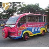 Graceful Airport 14 Seater Electric Passenger Shuttle Bus