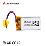 500 Times Cycle 461730 3.7V 200mAh Li Ion Polymer Battery with Kc CB Bis Un38.3 Approved