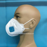 Ffp2 Disposable Face Masks with Vertical Flat Folded with Valve