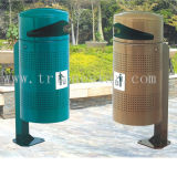 2016 Wholesale Waste Container/Park Dustbin /Street Dustbin Stand