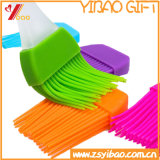 Kitchenware Colorful Easy Clean High Quality Soft Silicone Barbecue Oil Brush Customed (YB-HR-17)