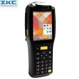 Zkc3505 Handheld PDA WiFi Bluetooth NFC RFID Reader Rugged 1d 2D Barcode Scanner Builtin Printer