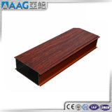 Extruded Thermal Break Aluminum Profile Wood Color for Window