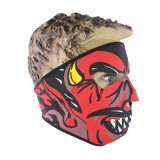 Devils Pattern Full Face Cold Proof Riding Face Mask (AM048)
