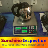 Kettle Pre-Shipment Inspection in China / Electric Appliances Quality Inspection Services