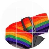 Woven Luggage Belt Plain Lanyard Promotional for Luggage